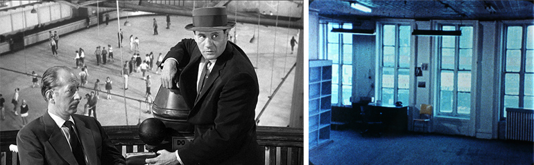 Contrabando (The Lineup, Don Siegel, 1958) y Wavelenght (Michael Snow, 1967)