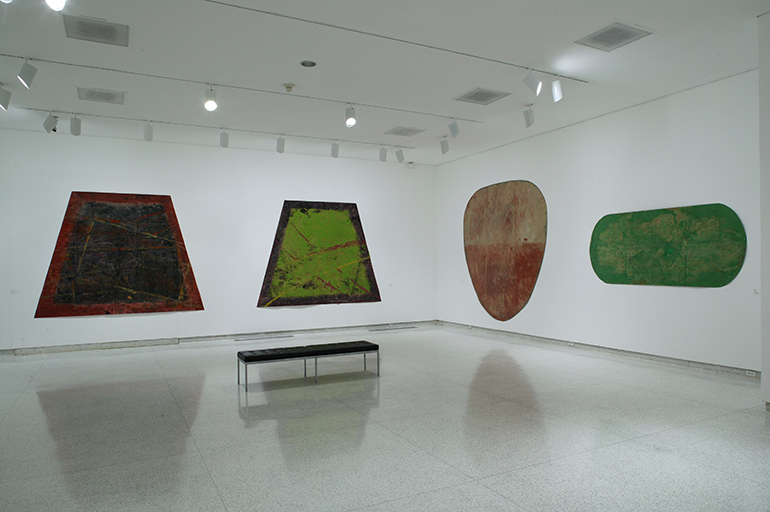 Paper Paintings, Museum of Contemporary Art, San Diego, 2003
